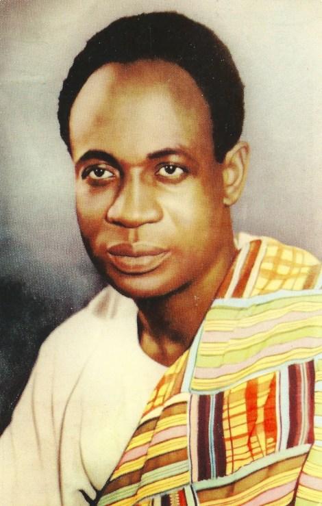 Dr. Kwame Nkrumah, Ghana.