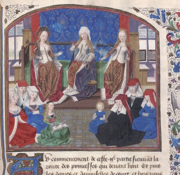 Medieval Middle Class Women go to College.
